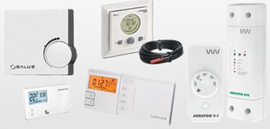 Комнатные термостаты и программаторы