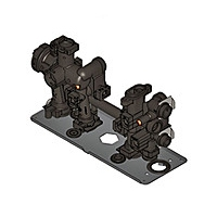 Гидравлический блок 2к. Viessmann Vitodens 100-W WB1C-7836237