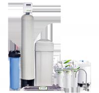 Готовое решение для очистки и умягчения жесткой воды с повышенным содержанием солей железа ECOSOFT ECOSMART ZM 2