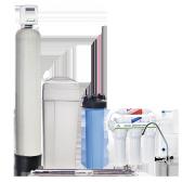 Готовое решение для очистки и умягчения жесткой воды с повышенным содержанием солей железа ECOSOFT ECOSMART ZM 4
